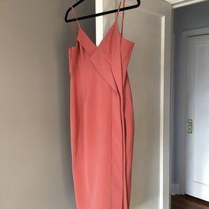 Keepsake Overpowered Midi Dress in Spice Sz S